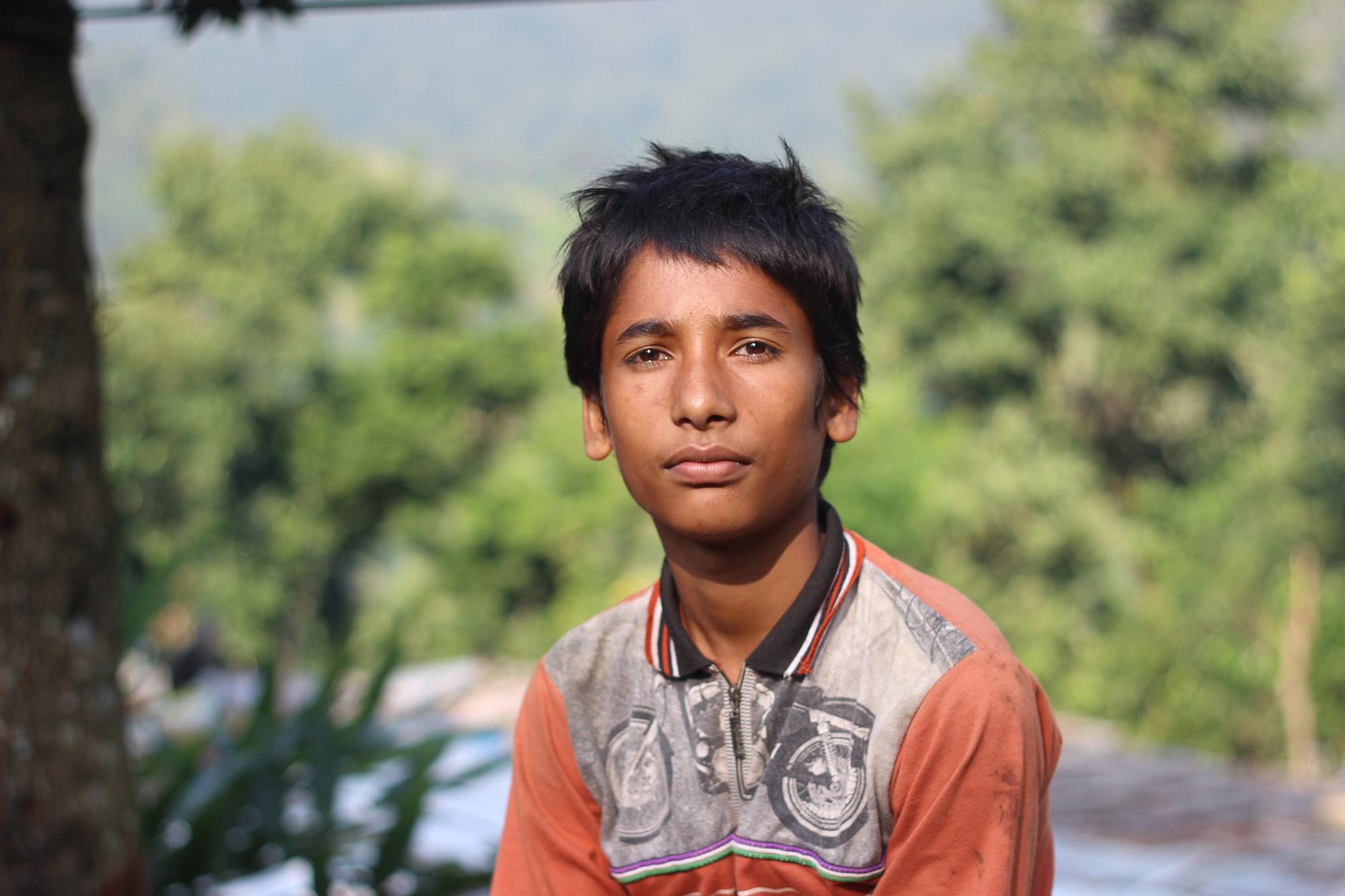 Vikram Parajuli in Chimling Beshi
