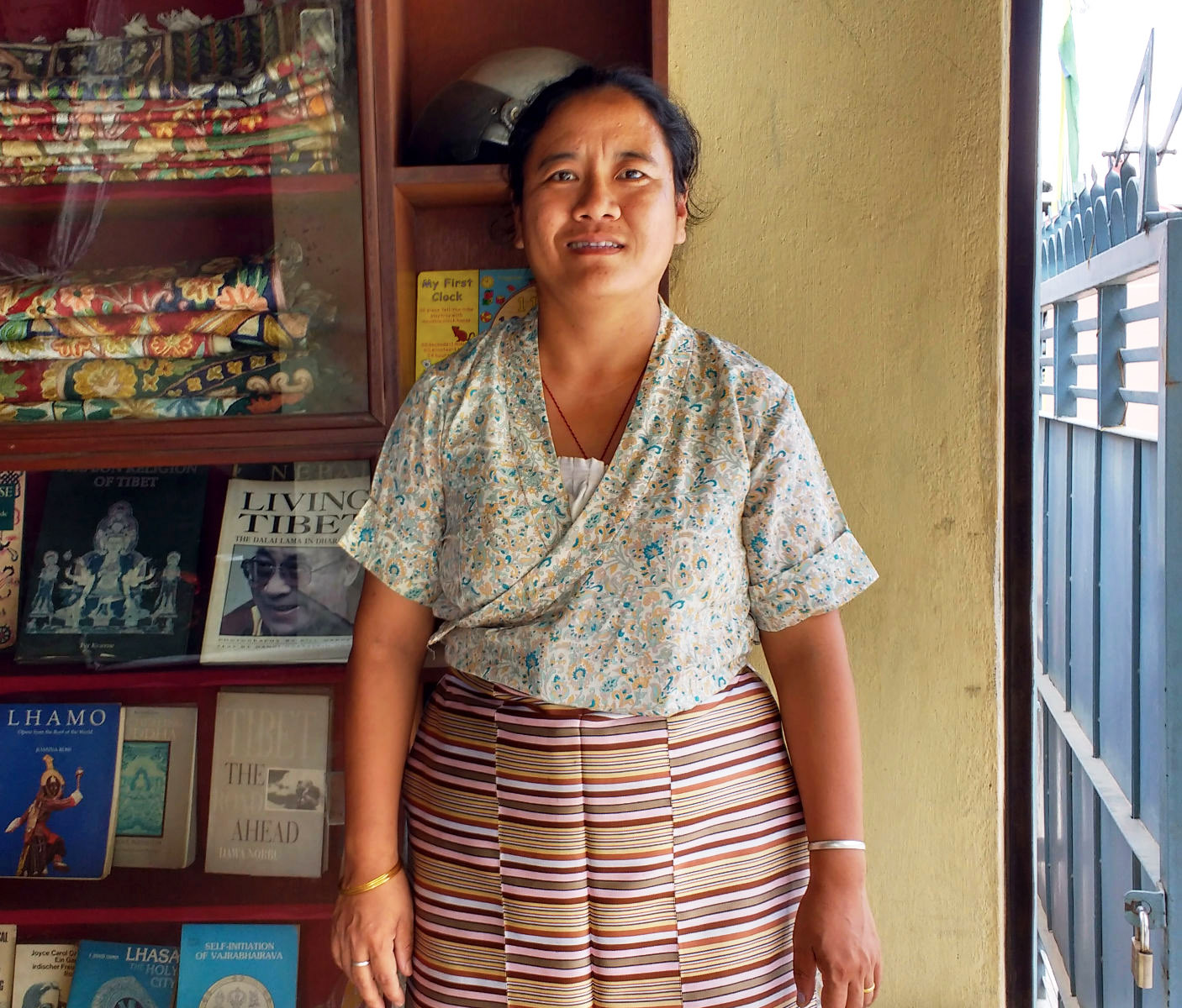 'I was home when the earthquake hit. Coming back here is the scariest thing I have done'