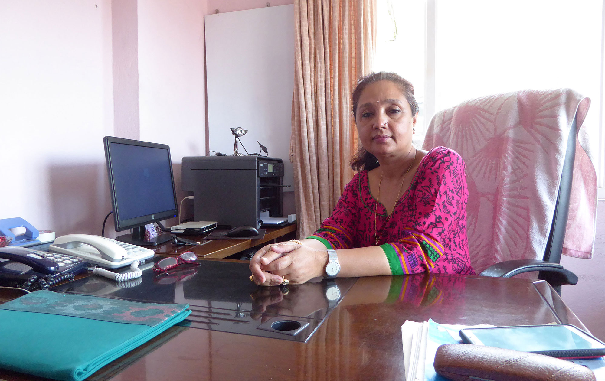 Lily Thapa, Women's Human Rights