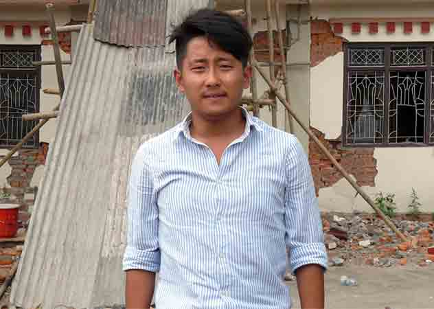 In quake-hit Kathmandu, a Tibetan community fights an unequal battle