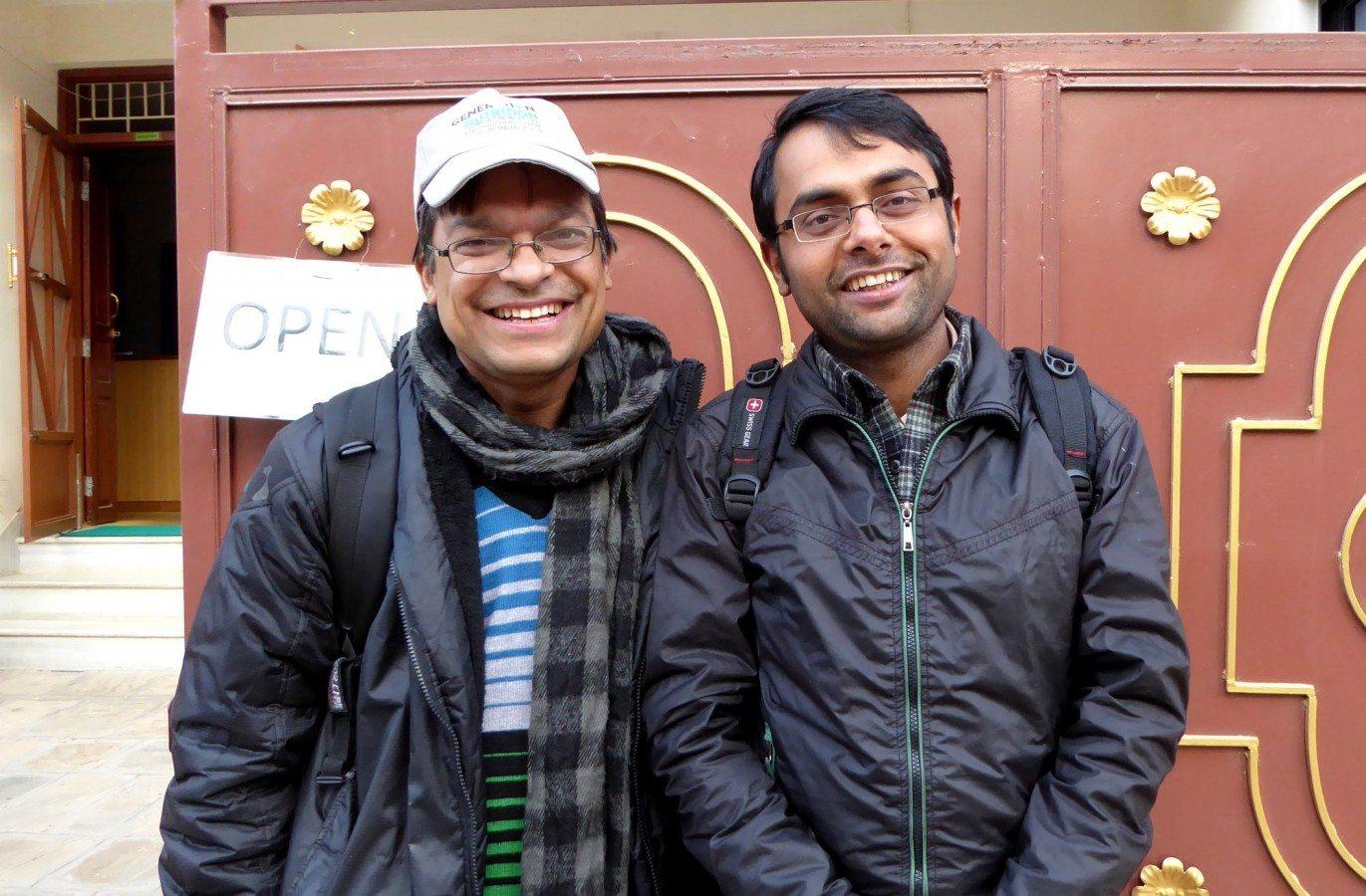Ram Hari Adhikari and Suresh Kumar Sarma