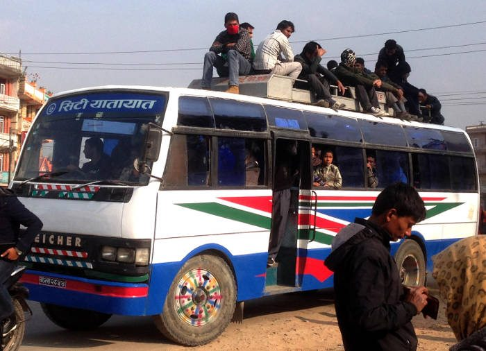 In the time of fuel crisis: commuting in Nepal
