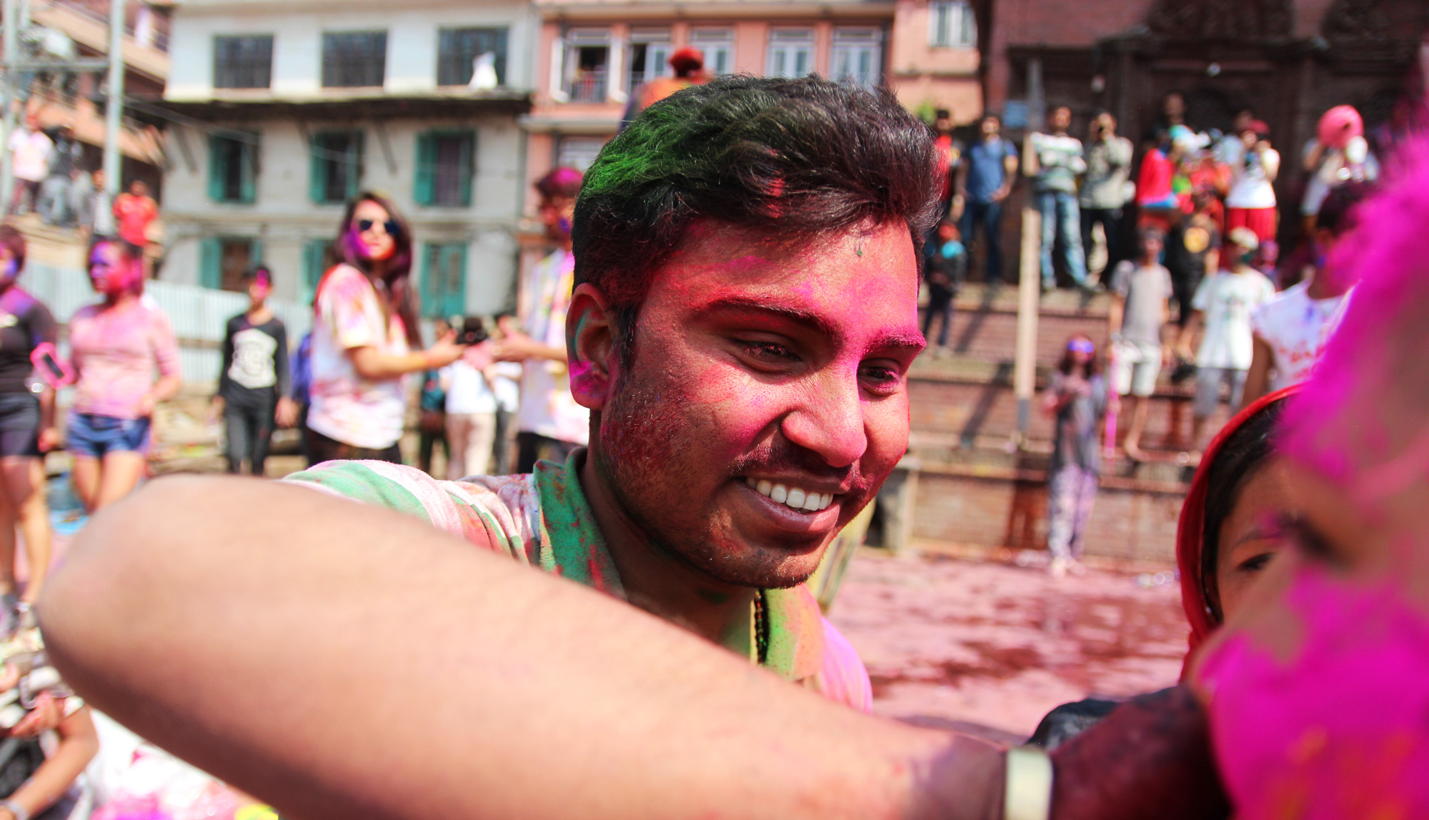 'Holi is completely different this year'