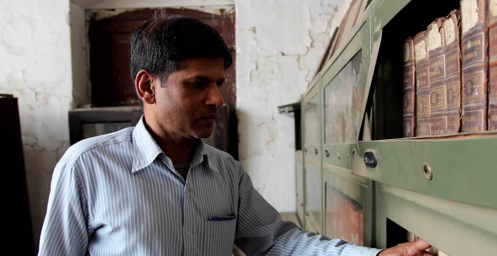 'We used to be a well-equipped school. Now we don't even have a library'