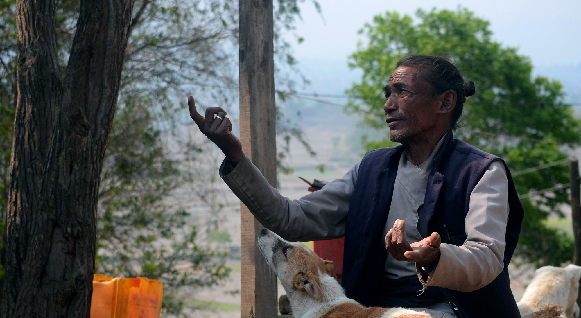 'I spent the last 300 rupees of my relief money on him'