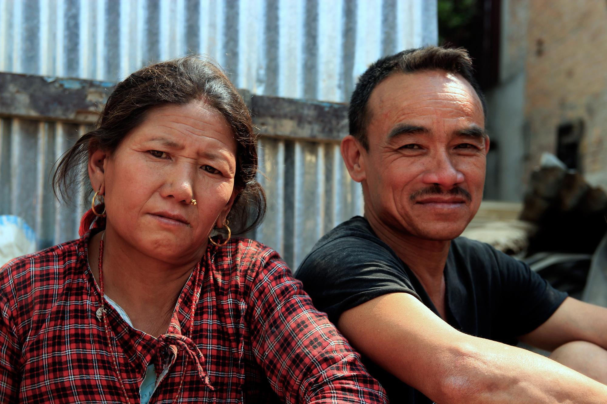Survivor Ram Bahadur, Bhaktapur, Nepal
